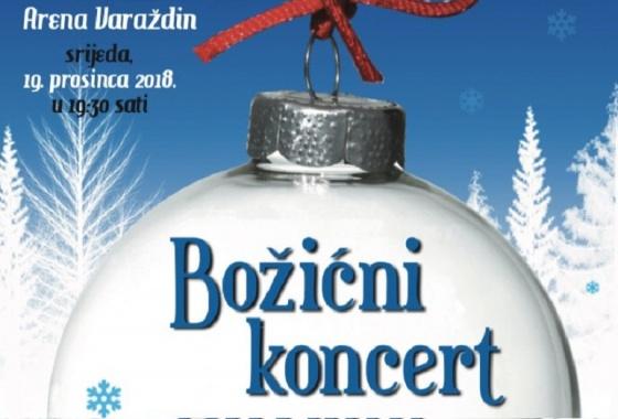 Božićni koncert Arena Varaždin 19. prosinca