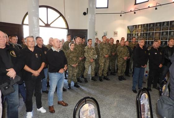 """Održana Sv. misa u kapelici Sv. Juraja u vojarni 7. gardijske brigade """"PUMA"""